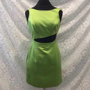 Vintage Linda Segal Party Dress w/ Cut Outs